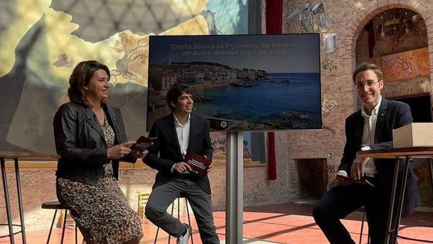 El Museu Dalí, escenari promocional del Patronat de Turisme cap a França