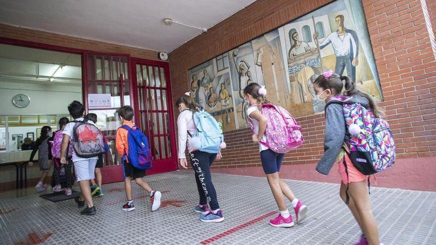 Casi el 100% del alumnado de Castellón tiene clases presenciales el primer día de curso