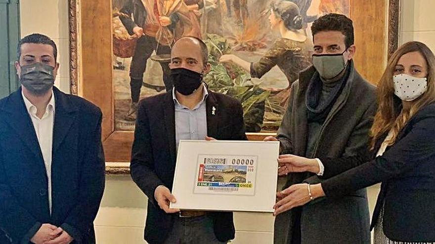 El premi gros del cupó que que l'ONCE va dedicar a Manresa va a parar a Sevilla