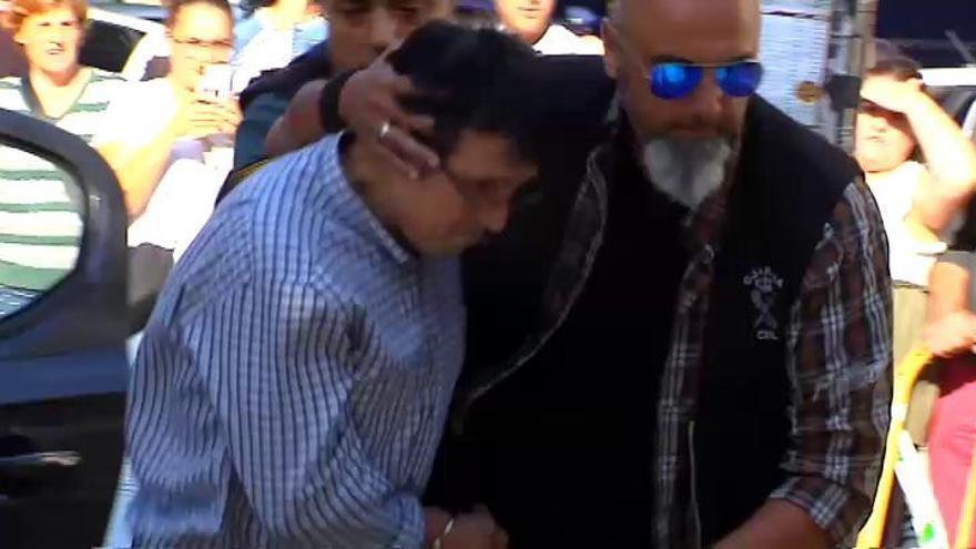 Prisión sin fianza para el autor del triple crimen de Valga