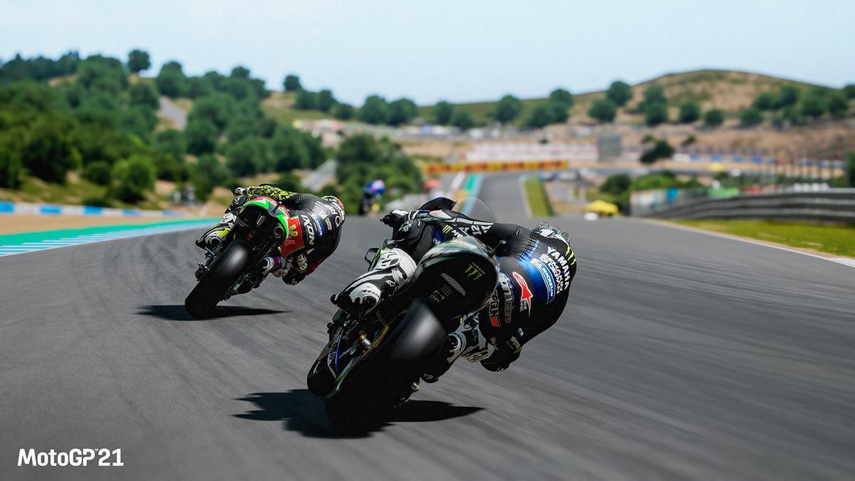 Secuencia del nuevo videojuego 'Moto GP 2021'