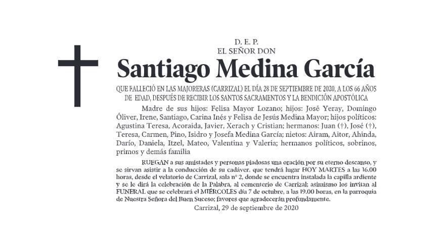 Santiago Medina García