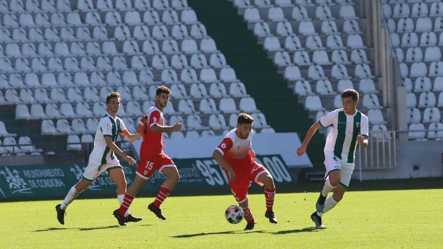 El Córdoba B se quita presión a base de goles (3-1)