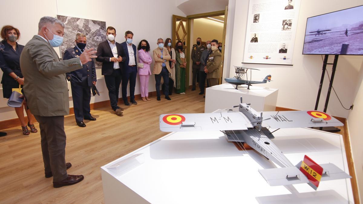 Inauguración de la exposición, el pasado viernes.