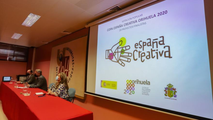 Los proyectos de Lugo, Oviedo y Vélez-Málaga, los más votados por el público en la Copa España Creativa de Orihuela