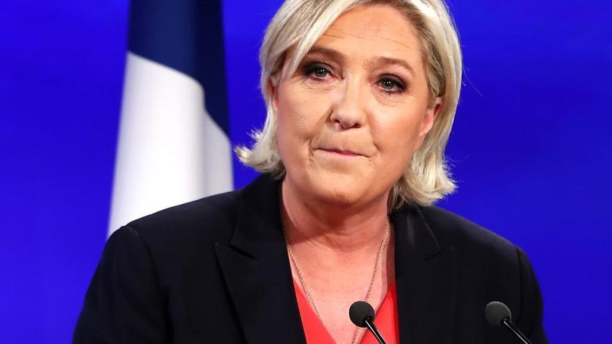 Marine Le Pen vuelve a tomar las riendas del Frente Nacional