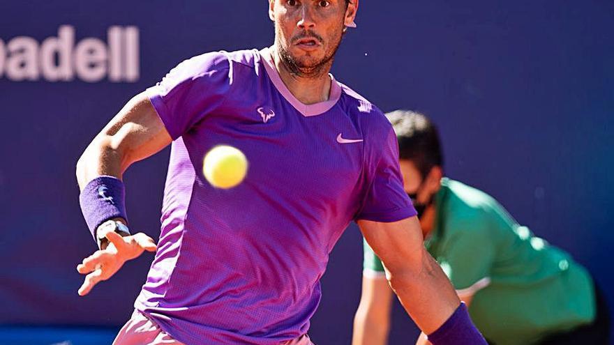 Rafa Nadal se mete en semifinales del Godó