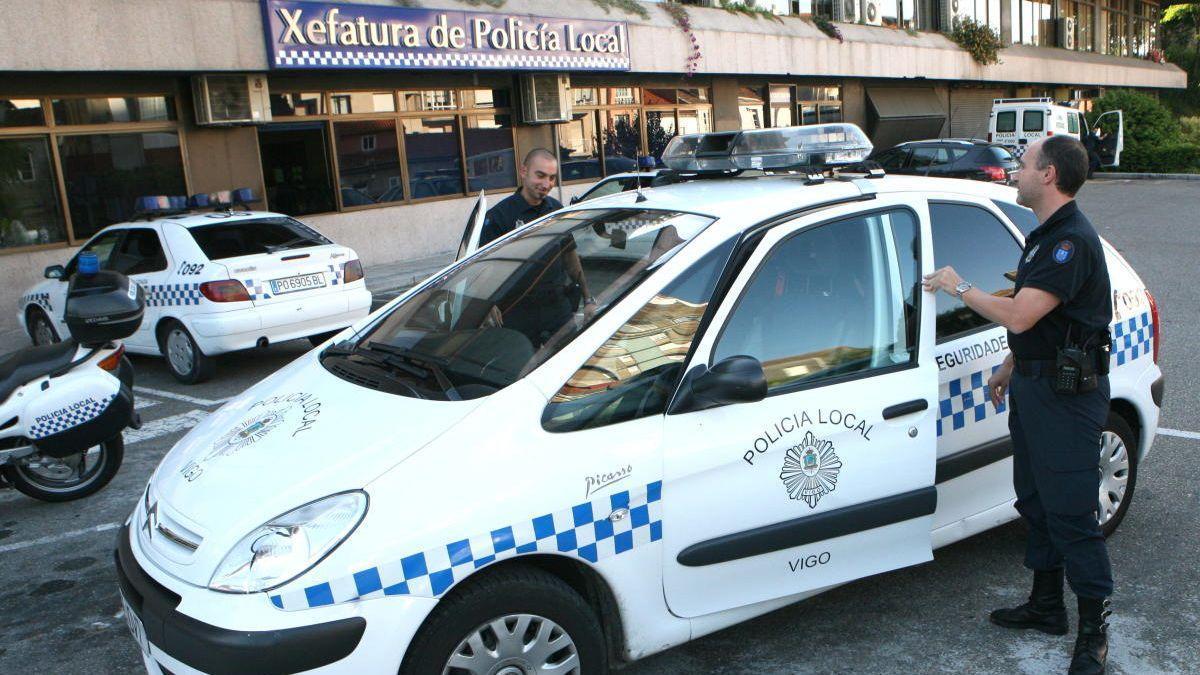 Instalaciones de la Policía Local en Vigo