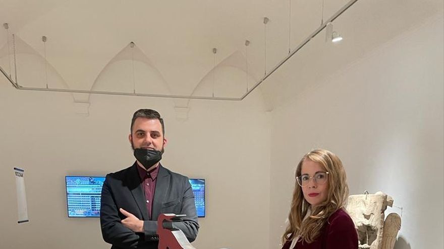 La artista ibicenca Irene de Andrés expone en la Real Academia de España en Roma