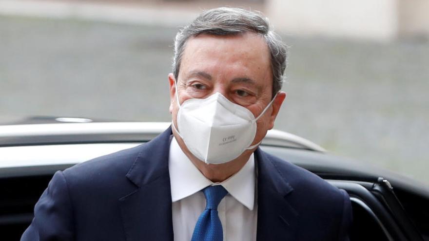 Draghi se asegura el último apoyo clave con el respaldo del Movimiento 5 Estrellas