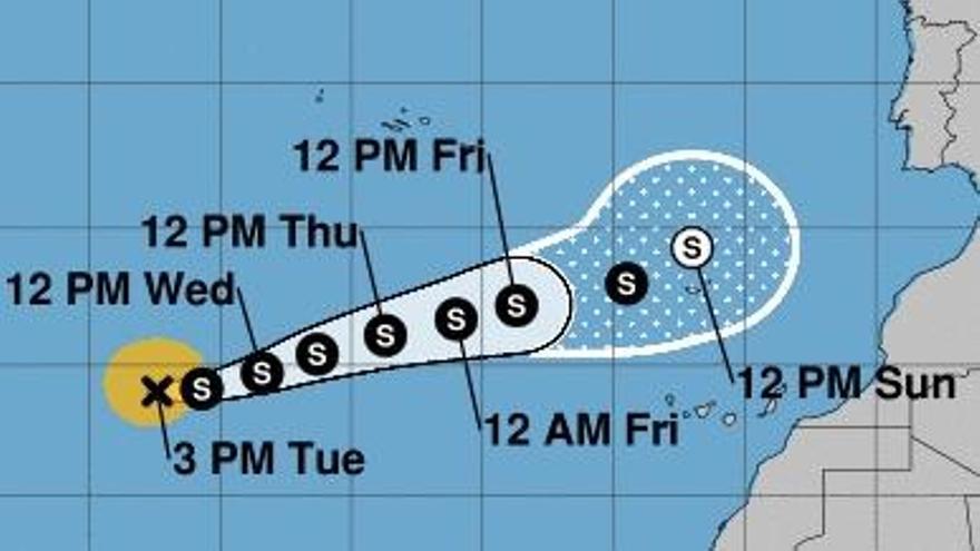 El ciclón Theta podría convertirse en huracán las próximas horas