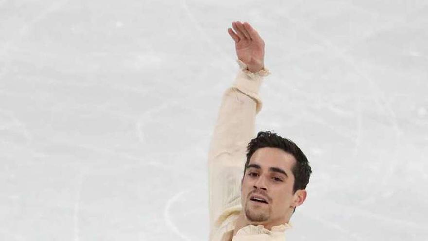 Javier Fernández se cuelga un bronce histórico