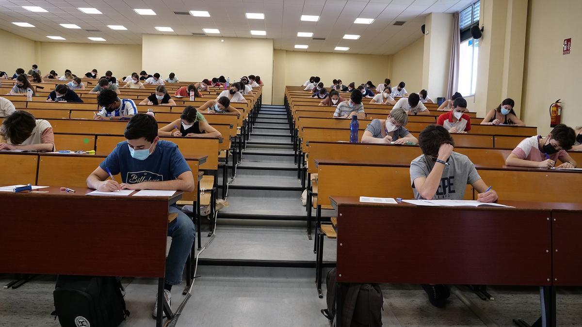 Exámenes de Selectividad en Málaga