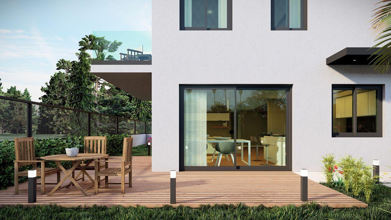 Modelos de chalés y pisos que diseña Arco da Vella, con luz y espacios al aire libre (5).jpeg