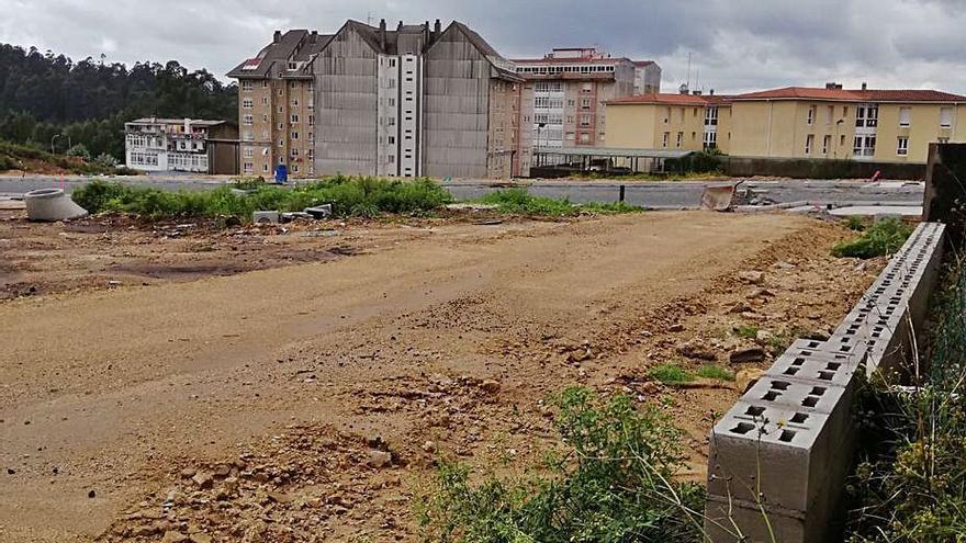 """Reclaman arreglar un vial y las pluviales para evitar """"barrizales"""" en la calle Marín"""