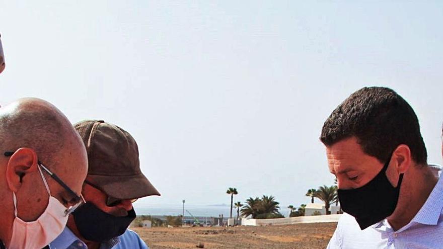 Yaiza inicia las obras del parque Atlántico en Playa Blanca, que durarán 10 meses