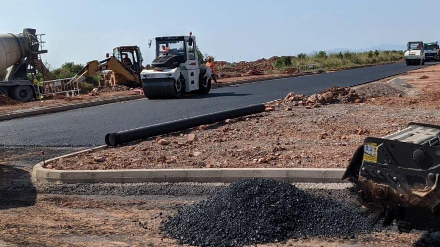 La carretera de Benicàssim a Castelló estará lista en un mes