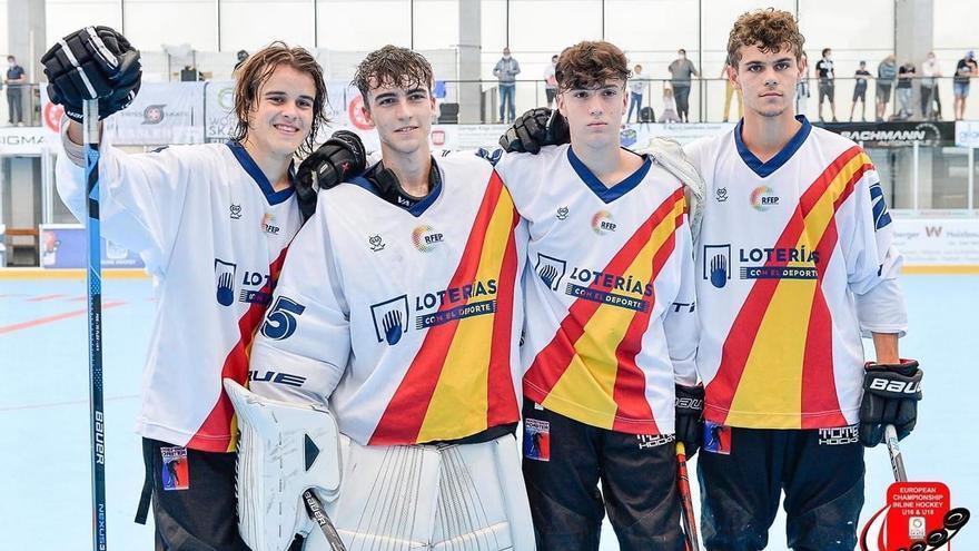 España campeona de Europa sub18 de hockey línea con cuatro castellonenses en sus filas