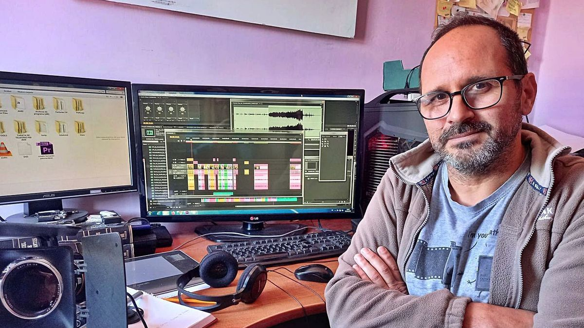 Raúl Jiménez, director del documental «Finca del Gato» sobre Barrio Nuevo.     E.D.