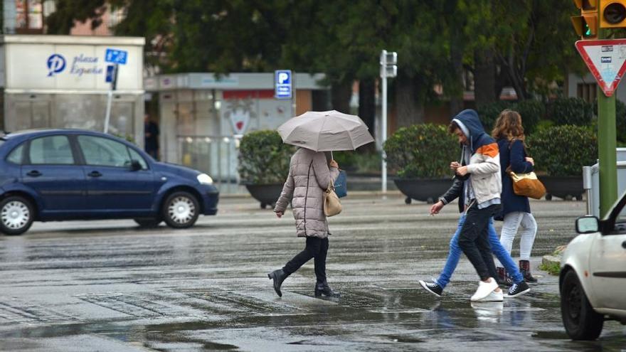 Lluvias y vientos de hasta 90 kilómetros afectarán a Mallorca hasta el martes