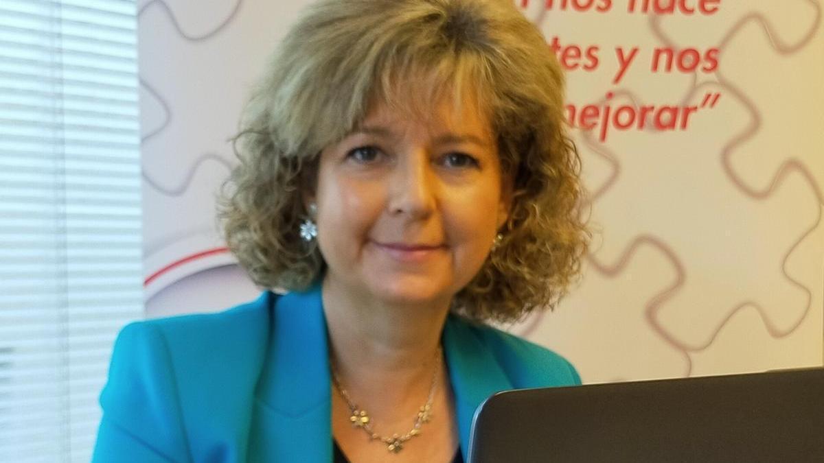 Paquita Morata es gerente de Arade, Asociación Aragonesa para la Dependencia.