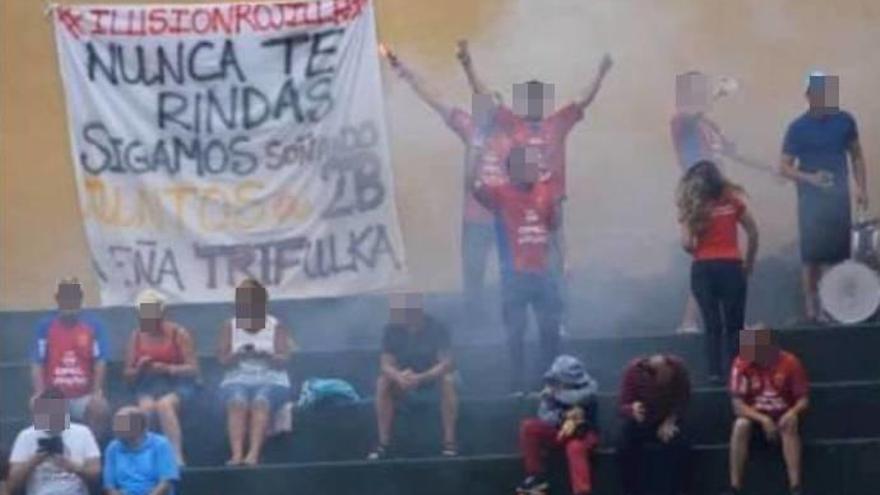"""La UD Lanzarote denuncia ataques """"deleznables"""" de miembros de una peña"""