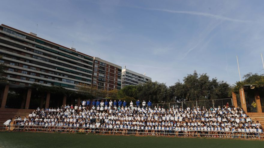 Presentación  de la escuela del Valencia Club Atletismo