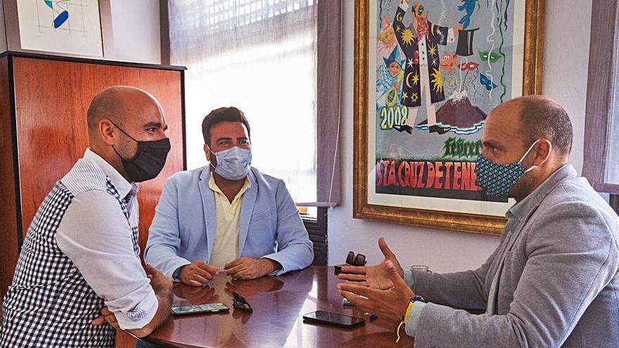 Santa Cruz se promocionará en el Carnaval de Verano del Puerto, en septiembre
