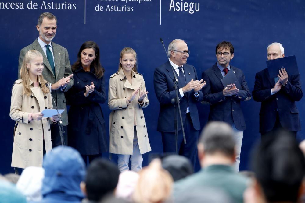 Un día histórico para Asiegu, Pueblo Ejemplar 2019
