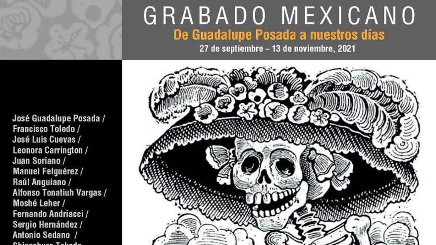 Grabado mexicano de Guadalupe Posada a nuestros días