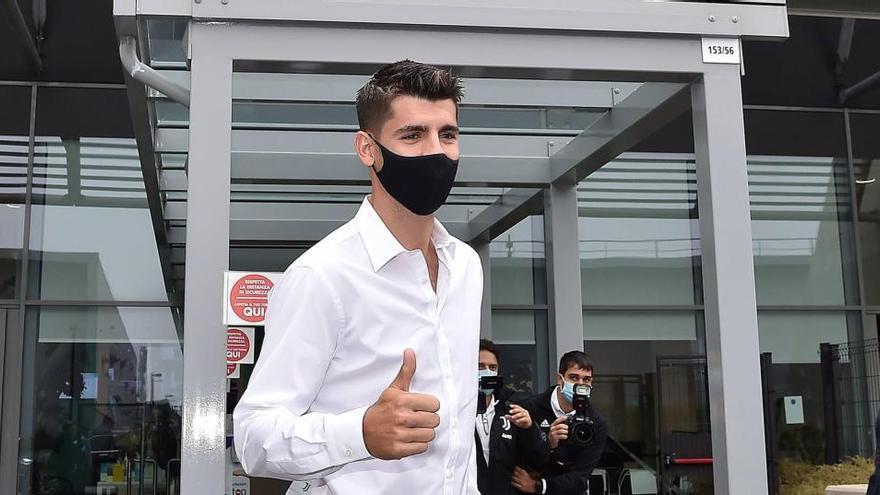 Morata vuelve cedido a la Juventus por 10 millones