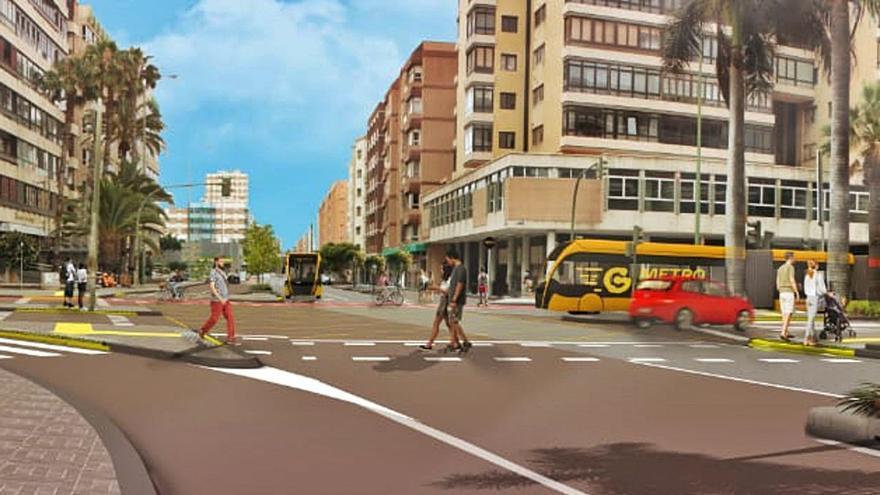 Arranca la segunda fase de la Metroguagua en Luis Doreste Silva