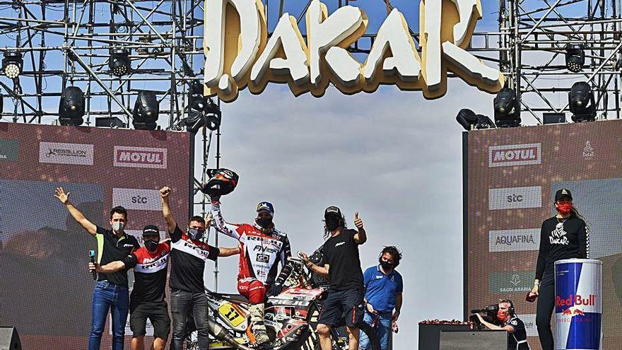 El Dakar corona Benavides i confirma Peterhansel