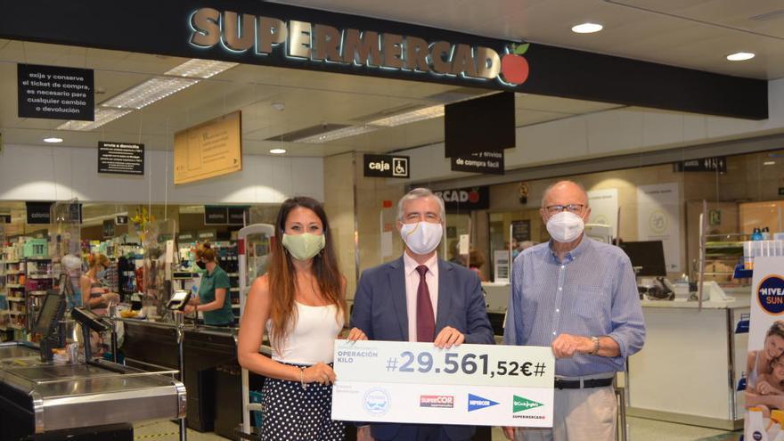 El Corte Inglés dona más de 29.000 euros al Banco de Alimentos de Alicante
