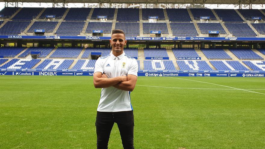 Buenas noticias para el Oviedo: Luismi ya se entrena con el grupo