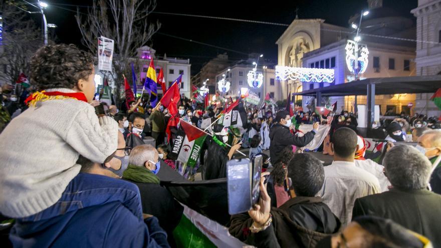 Más de 300 personas incumplen las medidas en una concentración de apoyo al pueblo saharaui