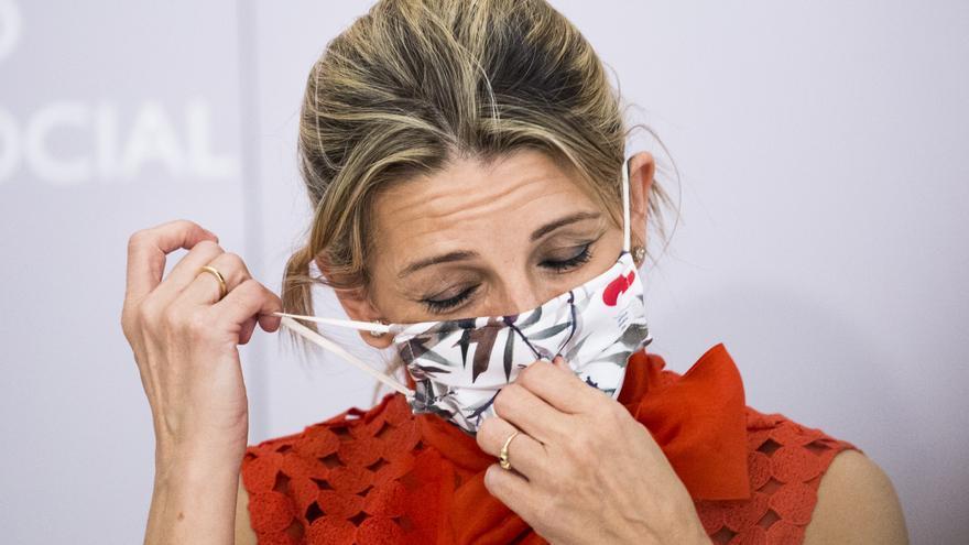 Yolanda Díaz suspende su agenda por motivos de salud