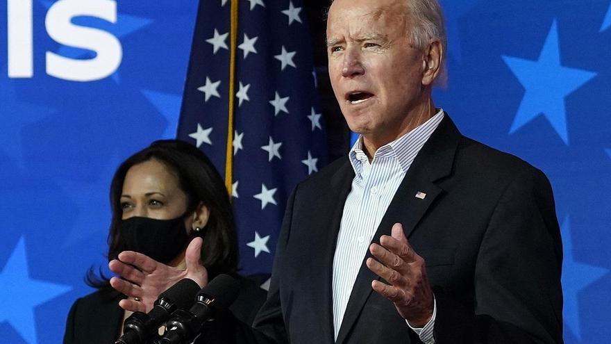 """Biden: """"Es momento de curar heridas"""""""