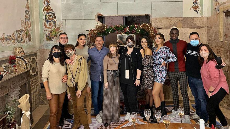 Campaña navideña en Meliana de spot televisivo