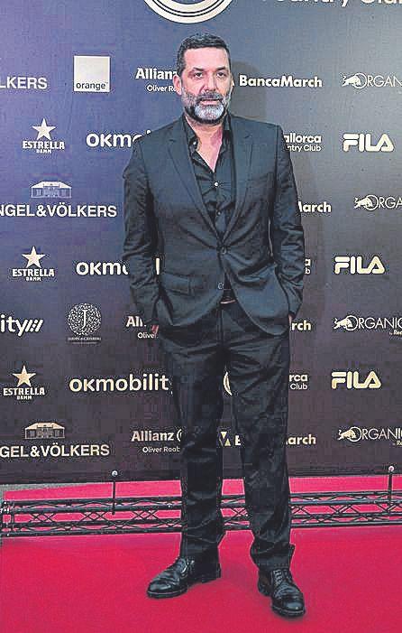 Jaume Anglada actuó en la cena.