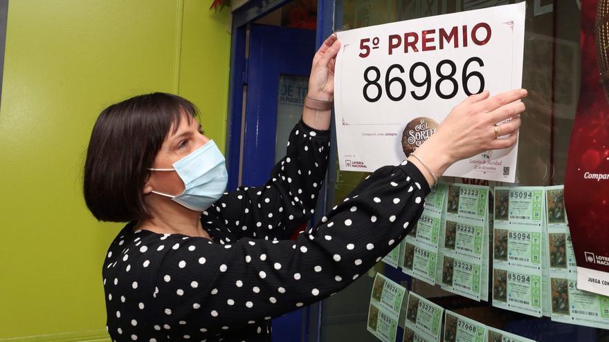 Un quinto premio deja 24.000 euros en la ciudad de València