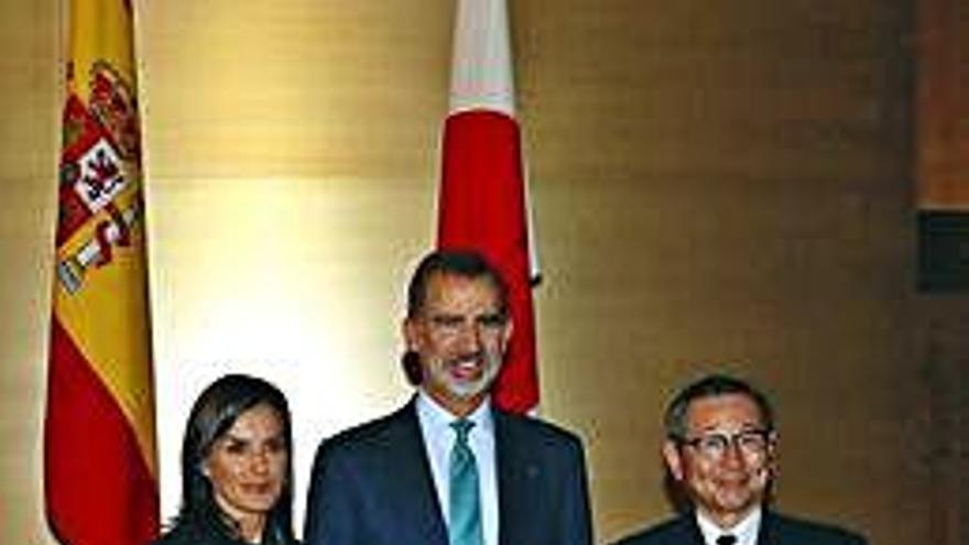 Los Reyes asisten en Tokio a la entronización del emperador Naruhito de Japón