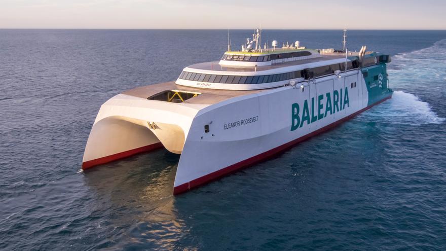 Baleària invita a sus pasajeros a que hagan realidad un sueño a bordo de su nuevo 'fast ferry Eleanor Roosevelt'
