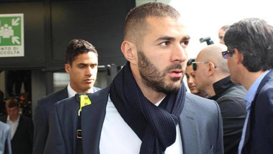 Levantado parcialmente el control judicial a Karim Benzema