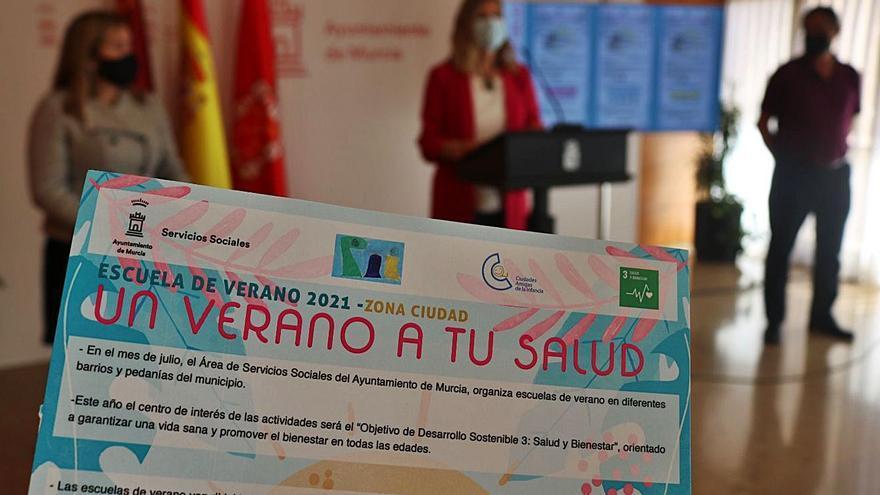 El Ayuntamiento de Murcia ofrece 2.300 plazas para las escuelas de verano