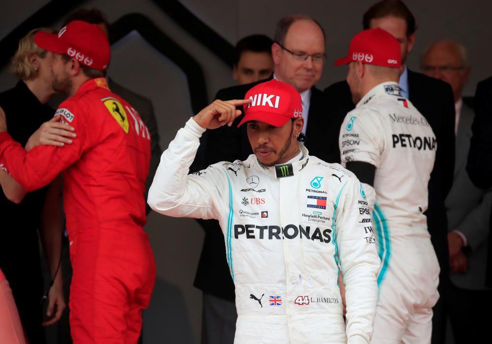 Las mejores imágenes del GP de Mónaco.