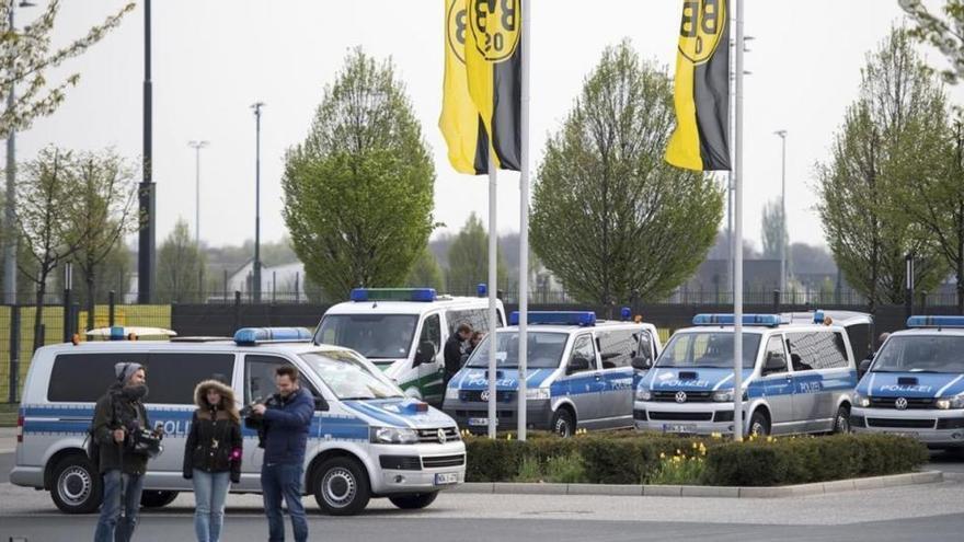 Un grupo de ultraderecha reivindica el atentado en Dortmund