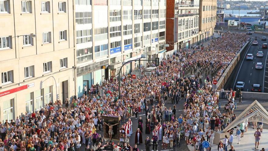 La pandemia vuelve a dejar a Vigo sin la procesión del Cristo de la Victoria