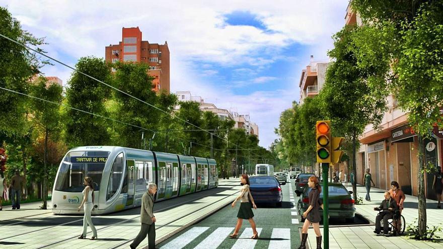 El tranvía y la depuradora, proyectos 'estrella' para los fondos de recuperación