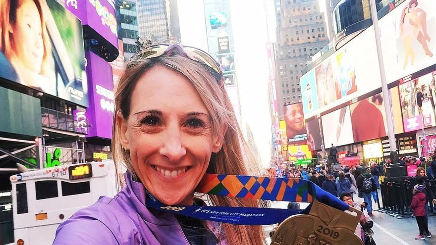 Beatriz Ríos, mejor española Máster 40 del Maratón de Nueva York